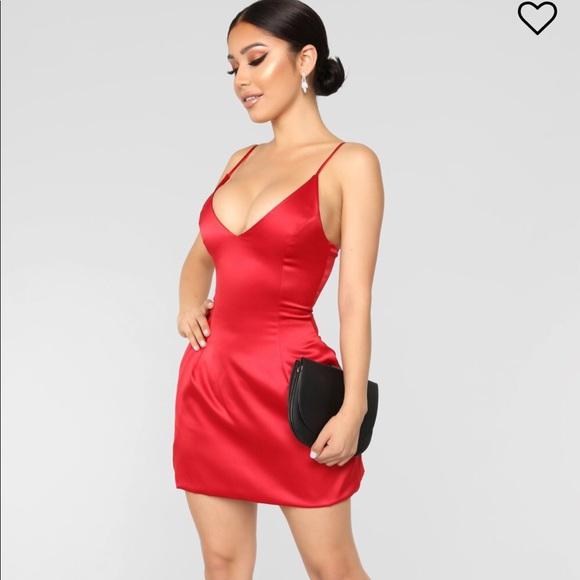 29da7618c31 Fashion nova Selena satin dress